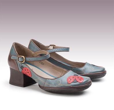 7e637d350c Comprinhas  Sapatos Norah » sapato retrô em couro